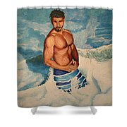 Breaking The Wave Shower Curtain