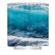 Breaking Wave At Kekaha Beach Shower Curtain