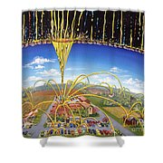 Breakthrough Shower Curtain