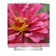 Breast Cancer Awareness Month Shower Curtain