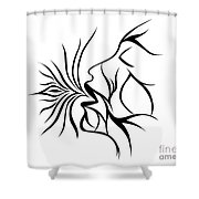 Breath Easy  Shower Curtain