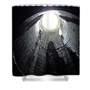 Breathe Pipe Shower Curtain