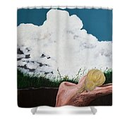 Breathing Room Shower Curtain