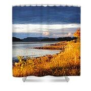Breathing The Autumn Air Shower Curtain