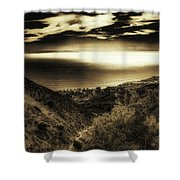 Breathless View Shower Curtain