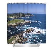 Breathtaking Blues Shower Curtain