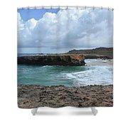 Breathtaking Boca Keto Beach On The Island Of Aruba Shower Curtain