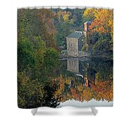 Breck's Mill Shower Curtain