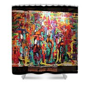 Breeders Cup Shower Curtain