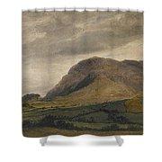 Breidden Hill In The Welsh Borders Shower Curtain