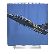 Breitling 6 Shower Curtain