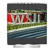 Brelsford Wsu Visitor Center Shower Curtain