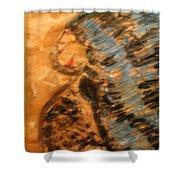 Brenda -tile Shower Curtain