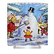 Brer Rabbit From Once Upon A Time Shower Curtain