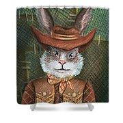 Brer Rabbit Shower Curtain