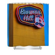 Brewers Hill Retro Shower Curtain