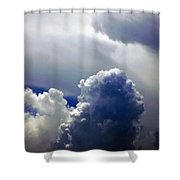 Brewing Shower Curtain