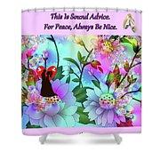 Brian Exton Celestial Flowers  Bigstock 164301632  2991949 Shower Curtain