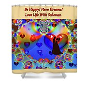 Brian Exton Forever In Love  Bigstock 164301632  2991949 Shower Curtain