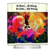Brian Exton Love Light And Roses  Bigstock 164301632  231488 Shower Curtain