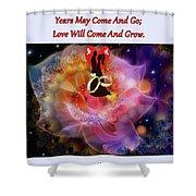 Brian Exton Night Flowers  Bigstock 164301632  231488 Shower Curtain