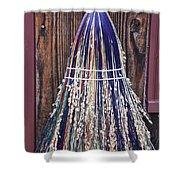 Brians Broom Shower Curtain