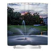 Briarcliffe Acres Sunset Shower Curtain