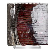 Bricked In Shower Curtain by Tim Good