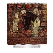 Bricklayers Shower Curtain