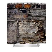 Bricks And Blocks Shower Curtain