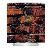 Bricks And Graffiti Shower Curtain by Tim Good