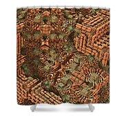 Bricks And Mortar Shower Curtain