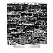 Bricks And Mortar Shower Curtain by Tim Good