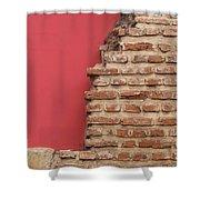 Bricks, Stones, Mortar And Walls - 3 Shower Curtain
