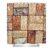 Brickwork#2 Shower Curtain