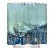 Bridal Vail Fall Below The Clouds Shower Curtain
