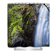 Bridal Veil  Falls 3 Shower Curtain