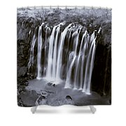 Bridal Veil Falls - Havasu Canyon Arizona C. 1900 Shower Curtain