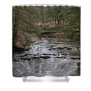 Bridal Veil Falls Ohio Shower Curtain