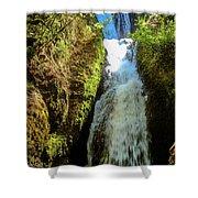 Bridal Veil Falls, Oregon Shower Curtain