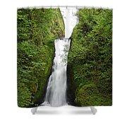 Bridal Veil Falls - Oregon Shower Curtain