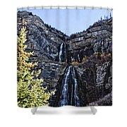 Bridal Veil Falls Provo Utah Shower Curtain