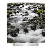 Bridal Veil Outflow Shower Curtain