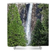 Bridalvail Fall And Raven Shower Curtain