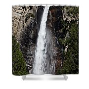 Bridalveil Fall Yosemite Valley Shower Curtain