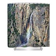 Bridalveil Falls From Above - Yosemite Shower Curtain