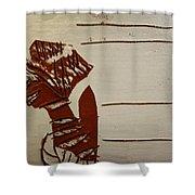 Bride 1 - Tile Shower Curtain