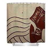 Bride 10 - Tile Shower Curtain