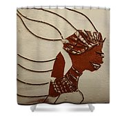 Bride 12 - Tile Shower Curtain