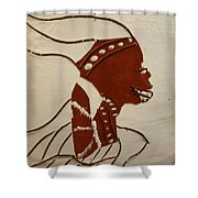 Bride 2 - Tile Shower Curtain